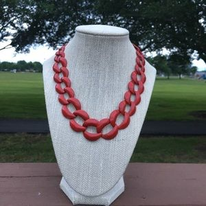 Jewelry - Red Chain Links Chocker